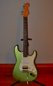 Warmoth Neck, Fender '62 Reissue Body, True Tone Technologies Pickups, Wilkinson Tremolo with Callaham Block